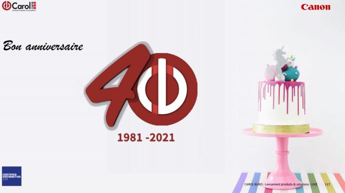 Conclusion 40 ans : Les Valeurs donnent de la Valeur
